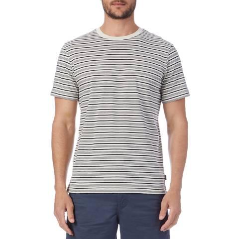 PAUL SMITH Navy Stripe T-Shirt