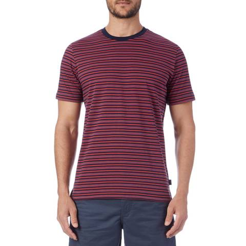 PAUL SMITH Red Stripe T-Shirt