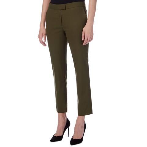 PAUL SMITH Khaki Straight Trousers