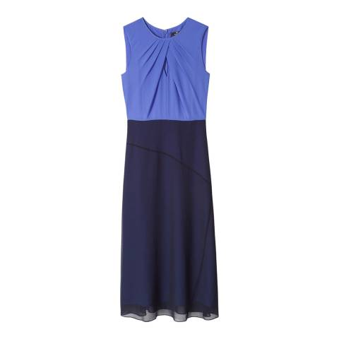 PAUL SMITH Navy/Blue Colourblock Dress