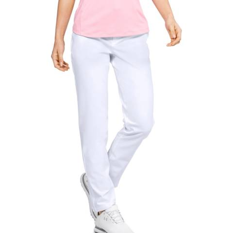 Under Armour Women's White Links Trousers
