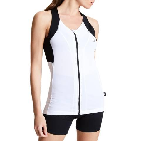 Dare2B White/Black Regale Vest