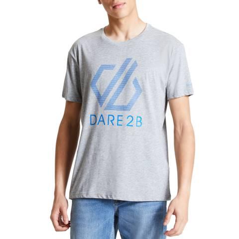 Dare2B Men's Ash Grey Continuous Tee