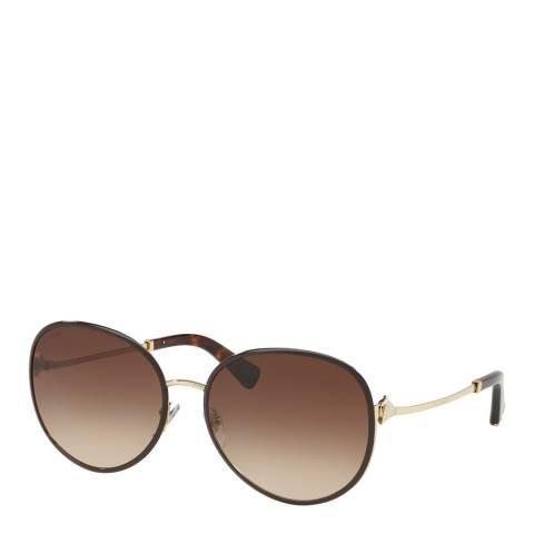 Bvlgari Women's Brown Sunglasses 59mm