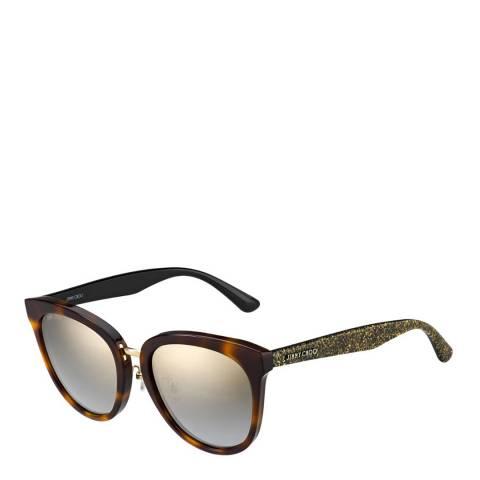 Jimmy Choo Women's Brown Sunglasses 55mm