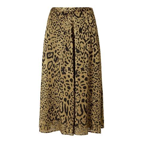 Baukjen Gold/Black Printed Lucienne Skirt