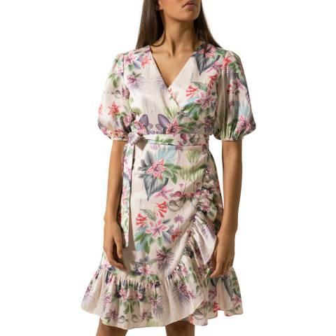 By Malina Multi Ruffled Lydia Dress