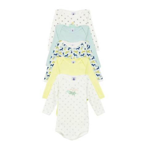 Petit Bateau Baby Boy's Multi Bodysuit Set