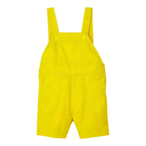 Petit Bateau Baby Boy's Yellow Short Dungarees