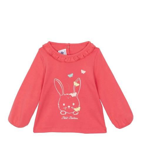 Petit Bateau Baby Girl's Pink Blouse
