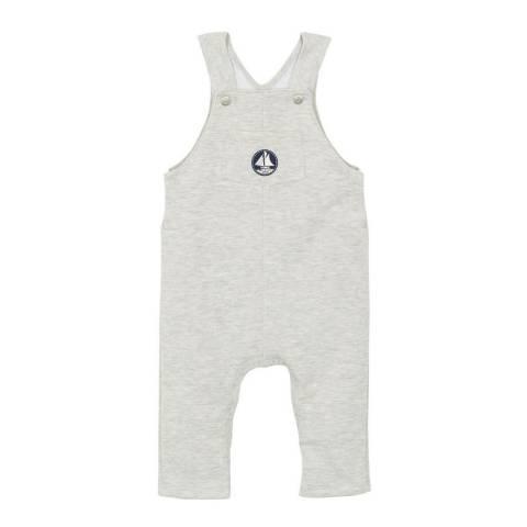 Petit Bateau Baby Boy's Grey Overalls