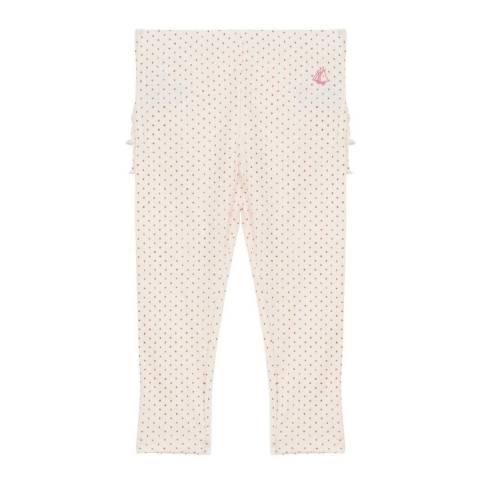 Petit Bateau Baby Girl's Pink Pyjama Bottoms