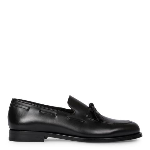 PAUL SMITH Black Larry Loafers