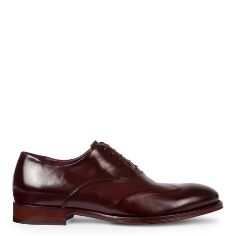 PAUL SMITH Aubergine Lomax Brogues