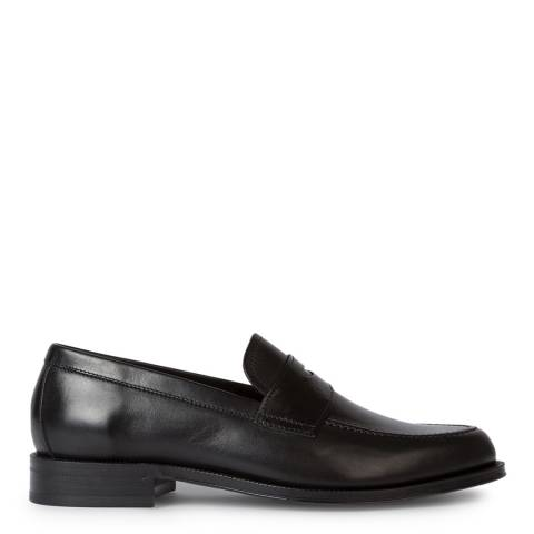 PAUL SMITH Black Lowry Loafers