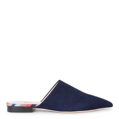 PAUL SMITH Dark Navy Cyprian Mules
