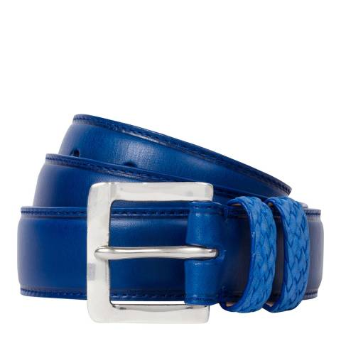 PAUL SMITH Blue Keep Belt