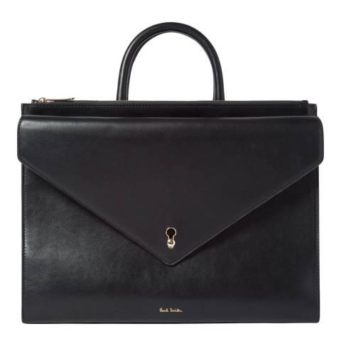PAUL SMITH Black Keyenv Tote Bag
