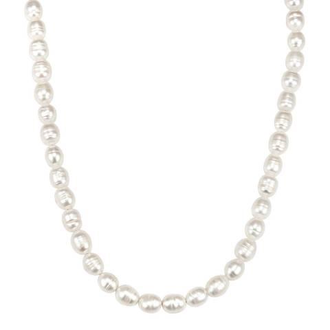 Kaimana Gold/White Freshwater Pearl Necklace