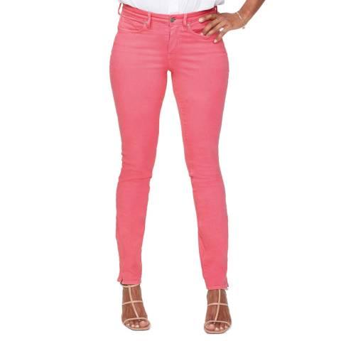 NYDJ Pink Skinny Alina Stretch Jeans