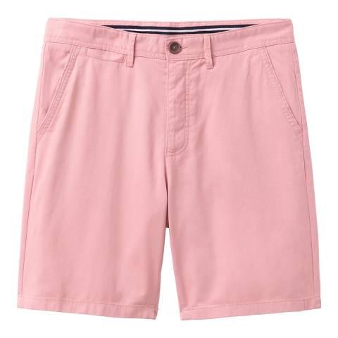 Crew Clothing Pink Chino Short