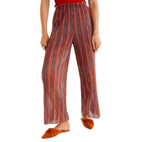 Mango Red Randie Trousers