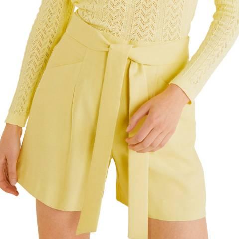 Mango Lime Bow Flowy Shorts