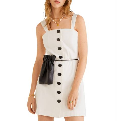 Mango Off White Lexa Dress