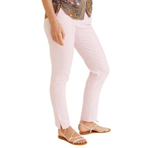 Mango Pastel Pink Line Trouser