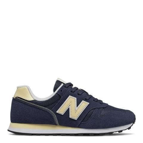 New Balance Navy 373 Sneaker