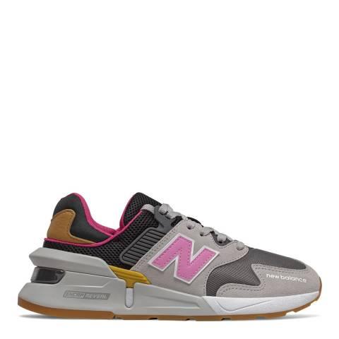 New Balance Grey Multi 997 Sport Sneaker