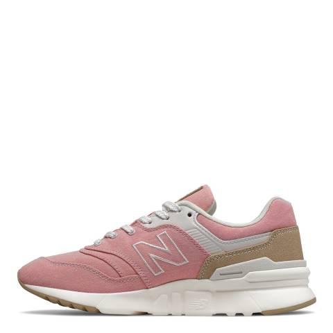 New Balance Light Pink 997H Sneaker