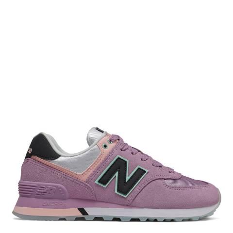 New Balance Pink 574 Sneaker