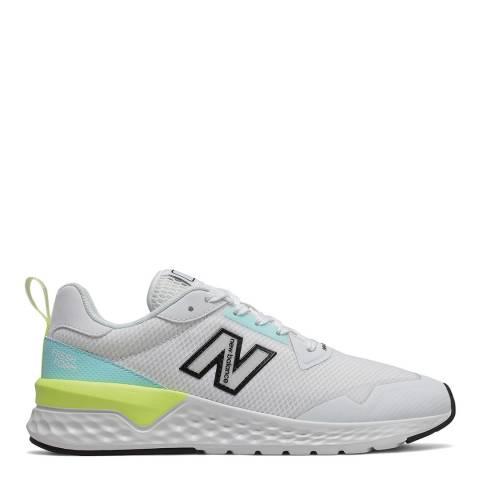 New Balance White 515 V2 Sneaker