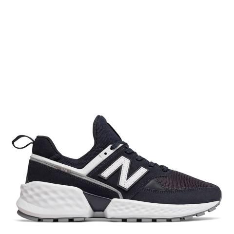 New Balance Black 574 Sport Sneaker