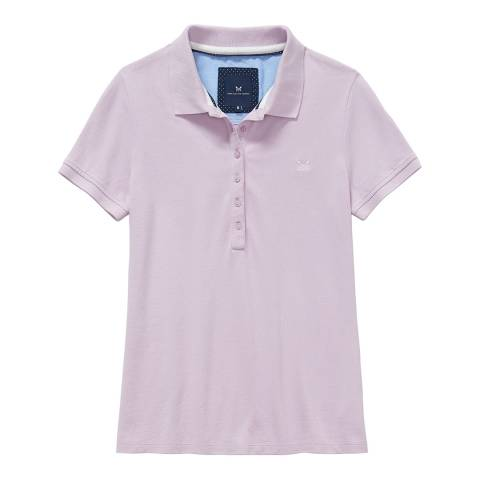Crew Clothing Lilac Classic Polo