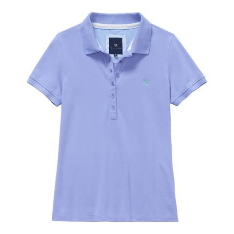 Crew Clothing Purple Classic Polo