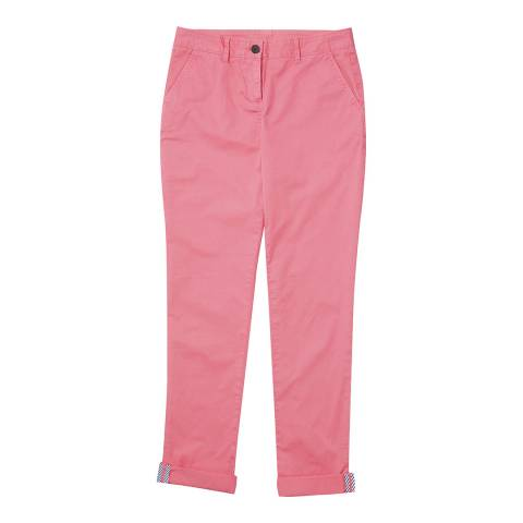 Crew Clothing Pink Chino Trouser