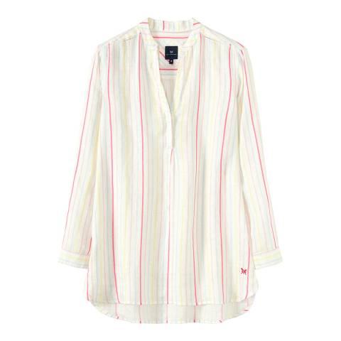 Crew Clothing White/Multi Beach Shirt