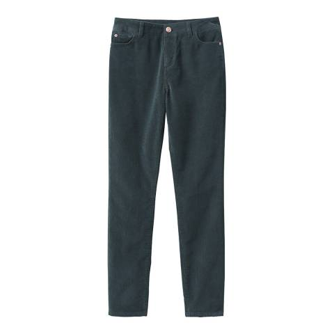 Crew Clothing Green Cord Trousers