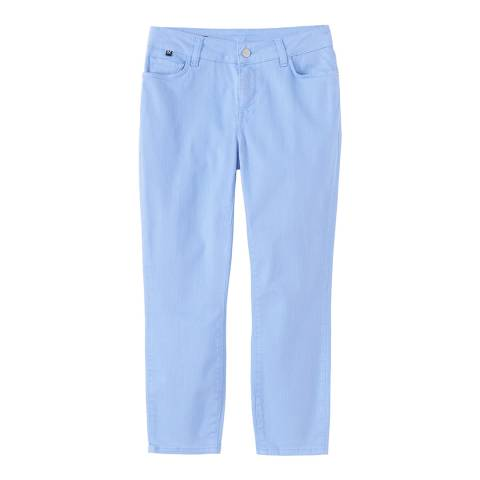 Crew Clothing Blue Cropped Skinny Jeans