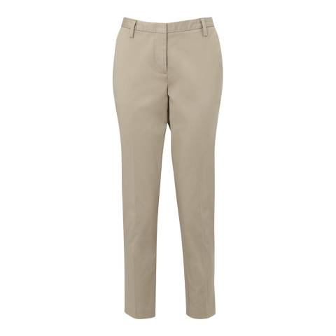 Crew Clothing Stone Ankle Grazer Trousers