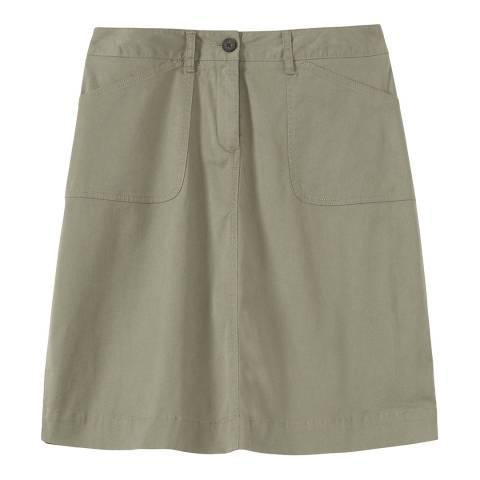 Crew Clothing Khaki Pocket Skirt