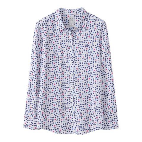 Crew Clothing Multi Printed Boy Friend Shirt