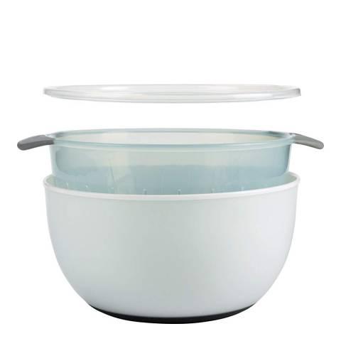 OXO 3-Piece Large Bowl & Colander Set