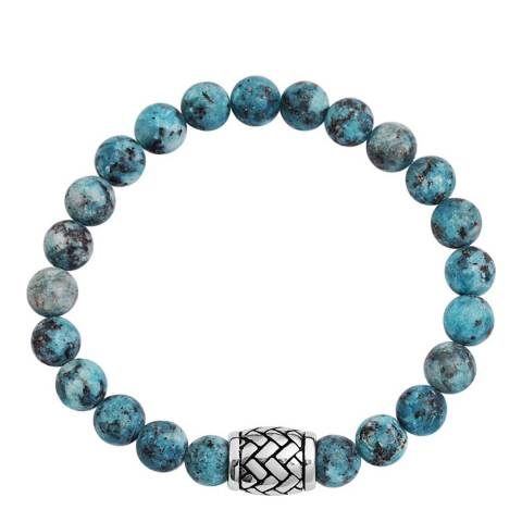 Stephen Oliver Multi Blue Gemstone Bracelet