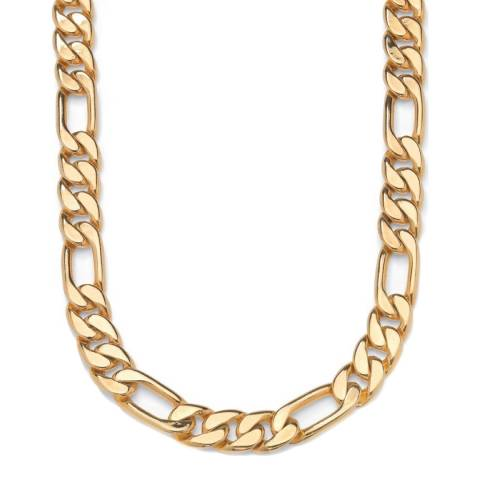 Stephen Oliver 18K Gold Plated Figaro Bracelet