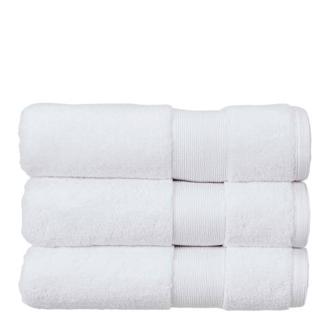 Kingsley Carnival Pair of Hand Towels, White