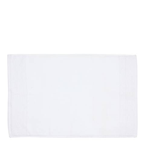 Kingsley Carnival Pair of Bath Mats, White