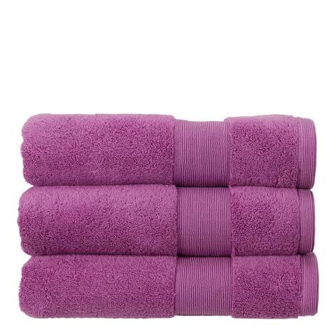 Kingsley Carnival Pair of Bath Sheets, Violet